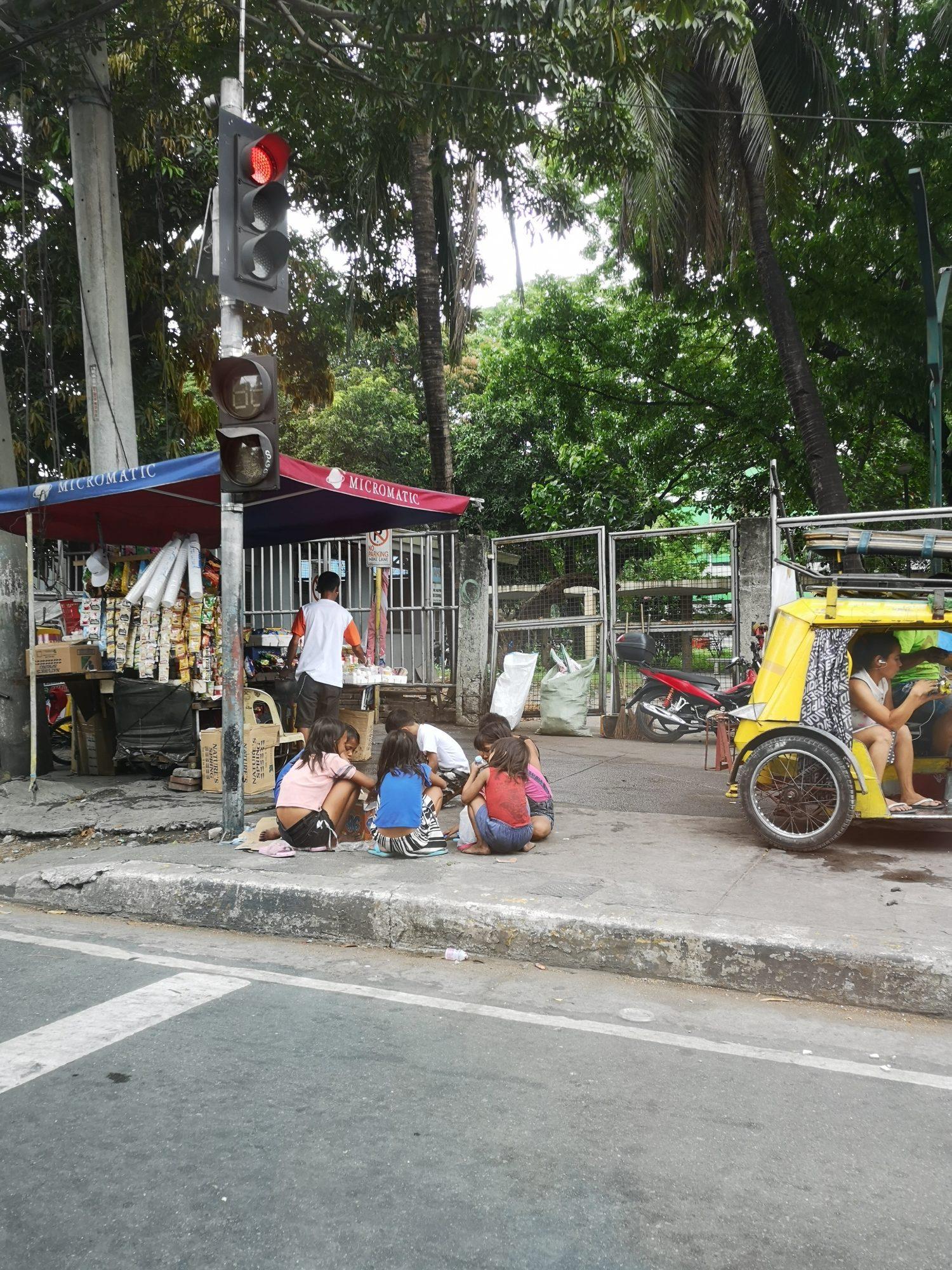 les enfants de Manille