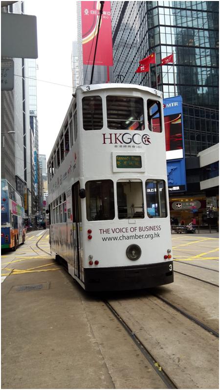 bus Hong Kong 2 étage 25 centime le trajet